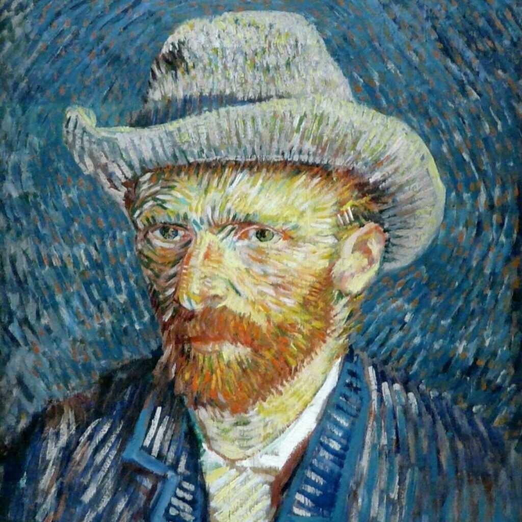Van Gogh che guarda serie tv